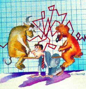 Страх и жадность на бирже